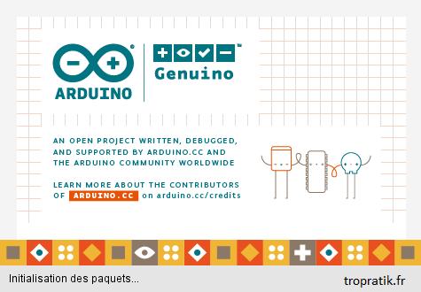 Installer le logiciel Arduino IDE