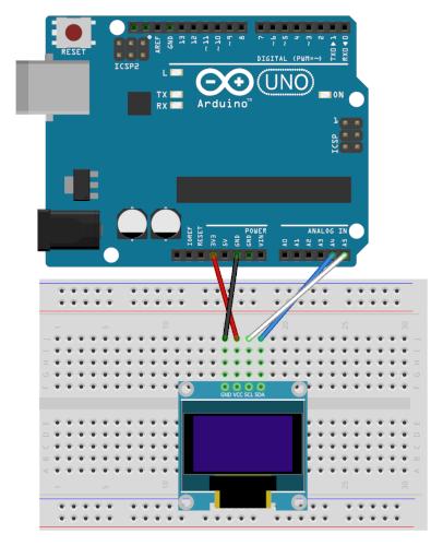 Branchement d'un ecran Oled 0.96 sur Arduino