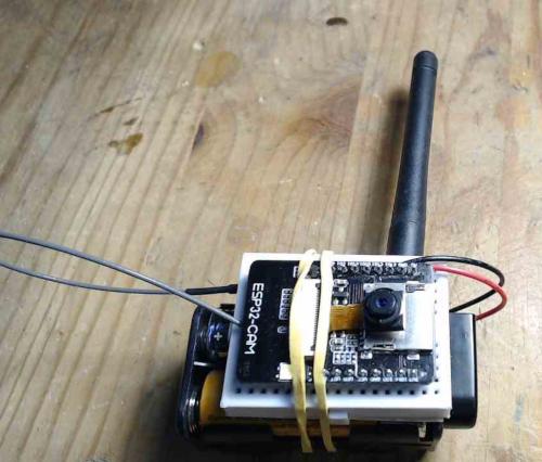 Caméra Wi-Fi ESP32-CAM autonome avec Arduino
