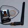 ESP32-CAM broches soudées avec antenne externe vue de face