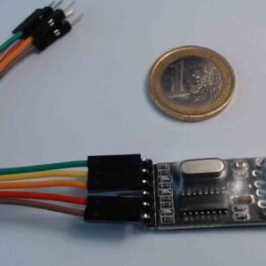 Convertisseur USB/TTL compatible CH340G