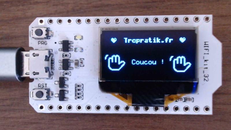 Programmer le WiFi Kit 32 avec Arduino